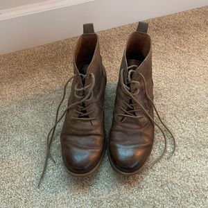 Lucky Brand Lace-Up Boots
